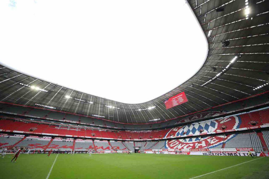Riaprono gli stadi in Germania, 20% di pubblico in Bundesliga (Getty Images)