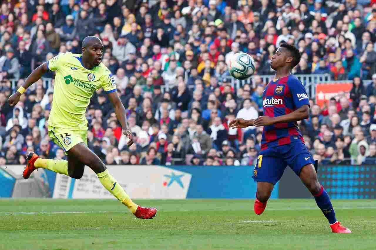 Barcellona, la clausola per Ansu Fati