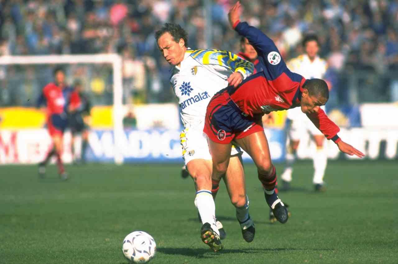 Dario Silva ai tempi del Cagliari