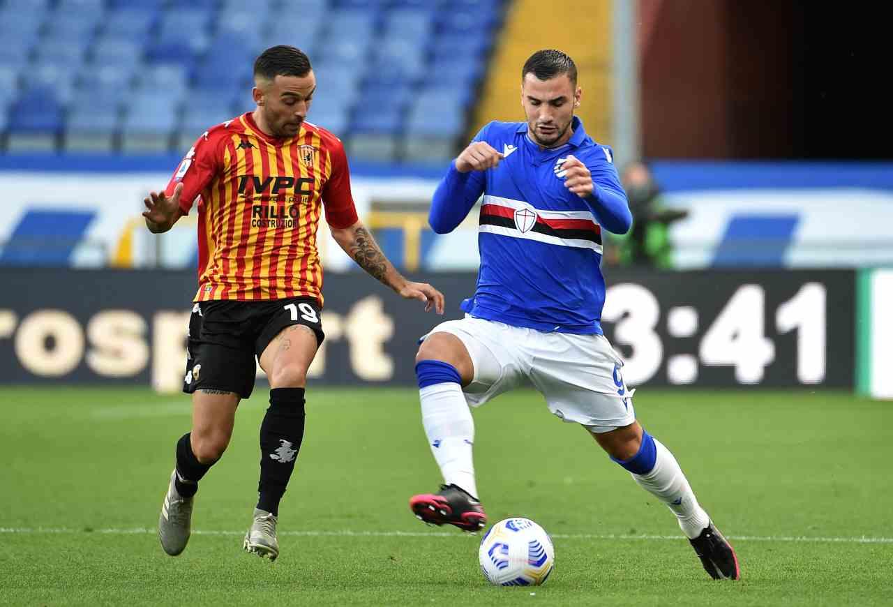 Impresa Benevento all'esordio, superata la Samp per 3-2 in rimonta!