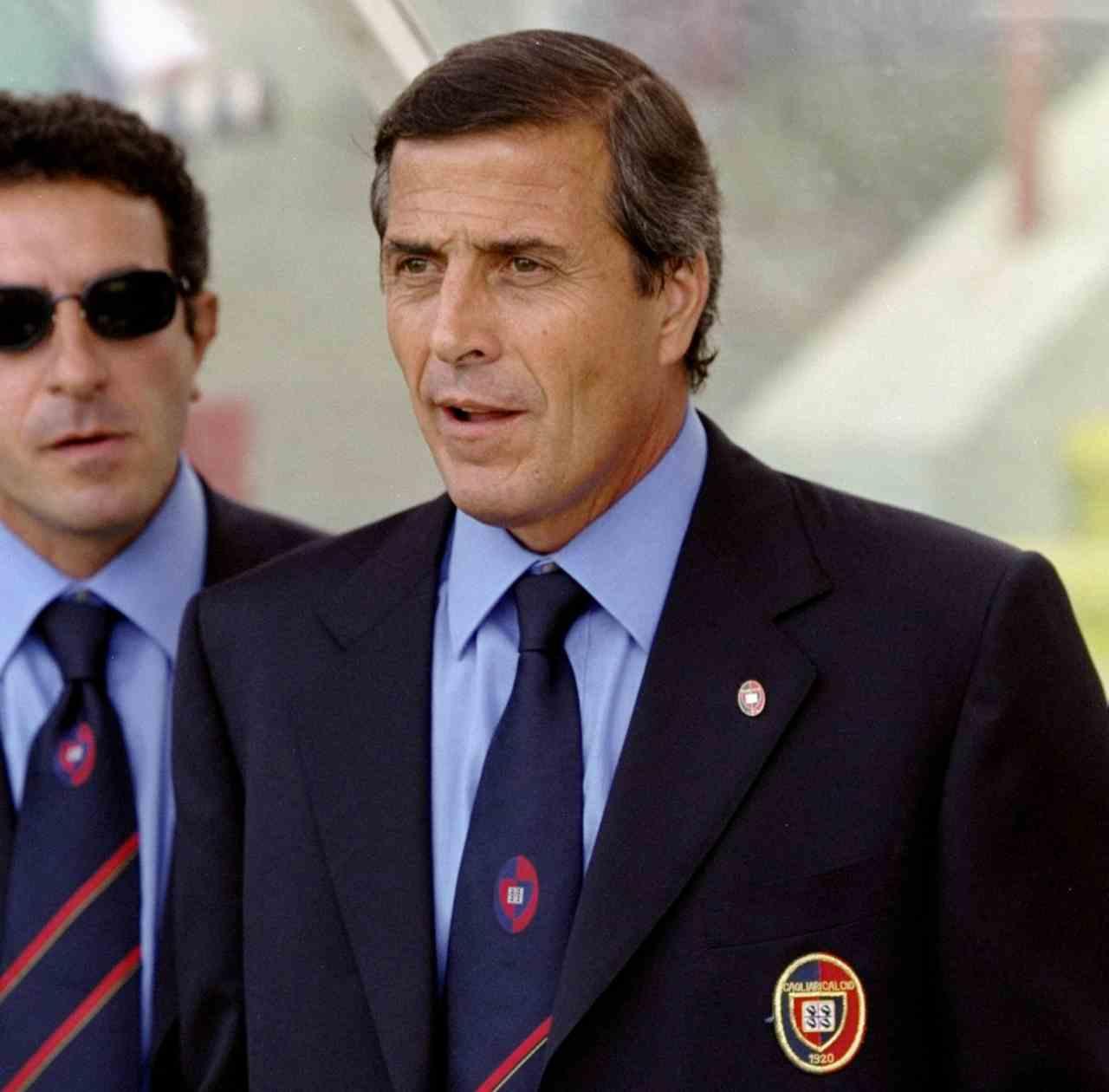 Tabarez, uno dei quattro allenatori uruguagi del Cagliari