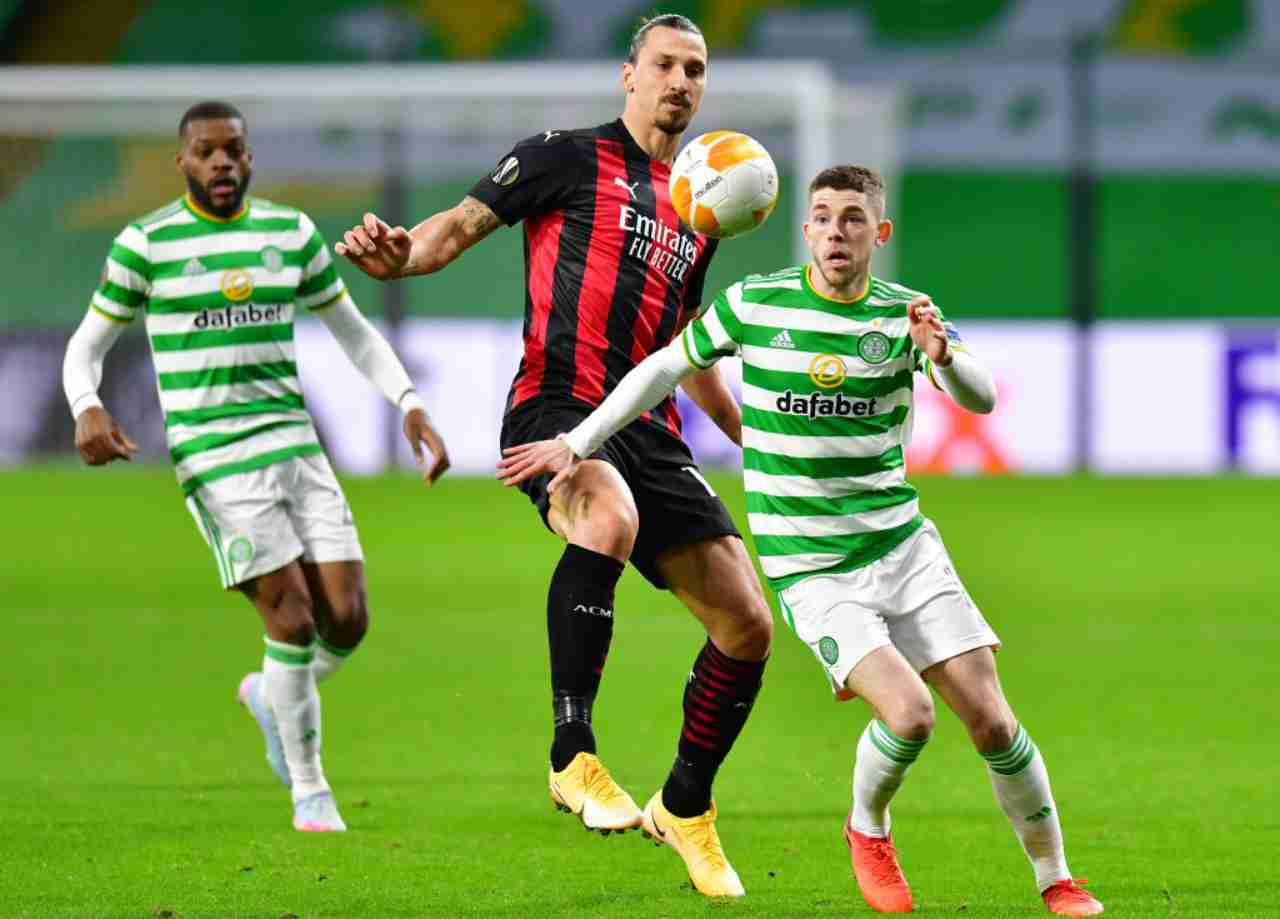 Celtic-Milan 1-3 (Getty Images)