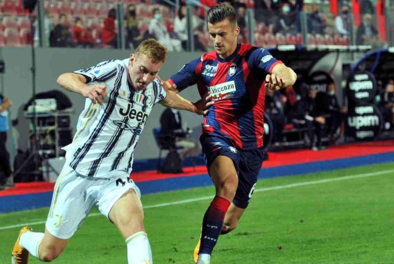 Crotone-Juventus 1-1 (Getty Images)