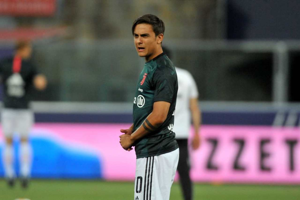 Dybala si sfoga con Paratici (Getty Images)