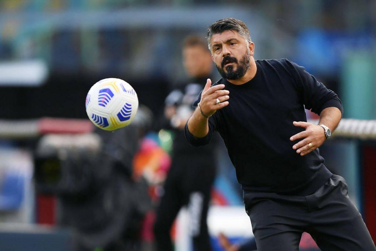 Gattuso Napoli De Laurentiis
