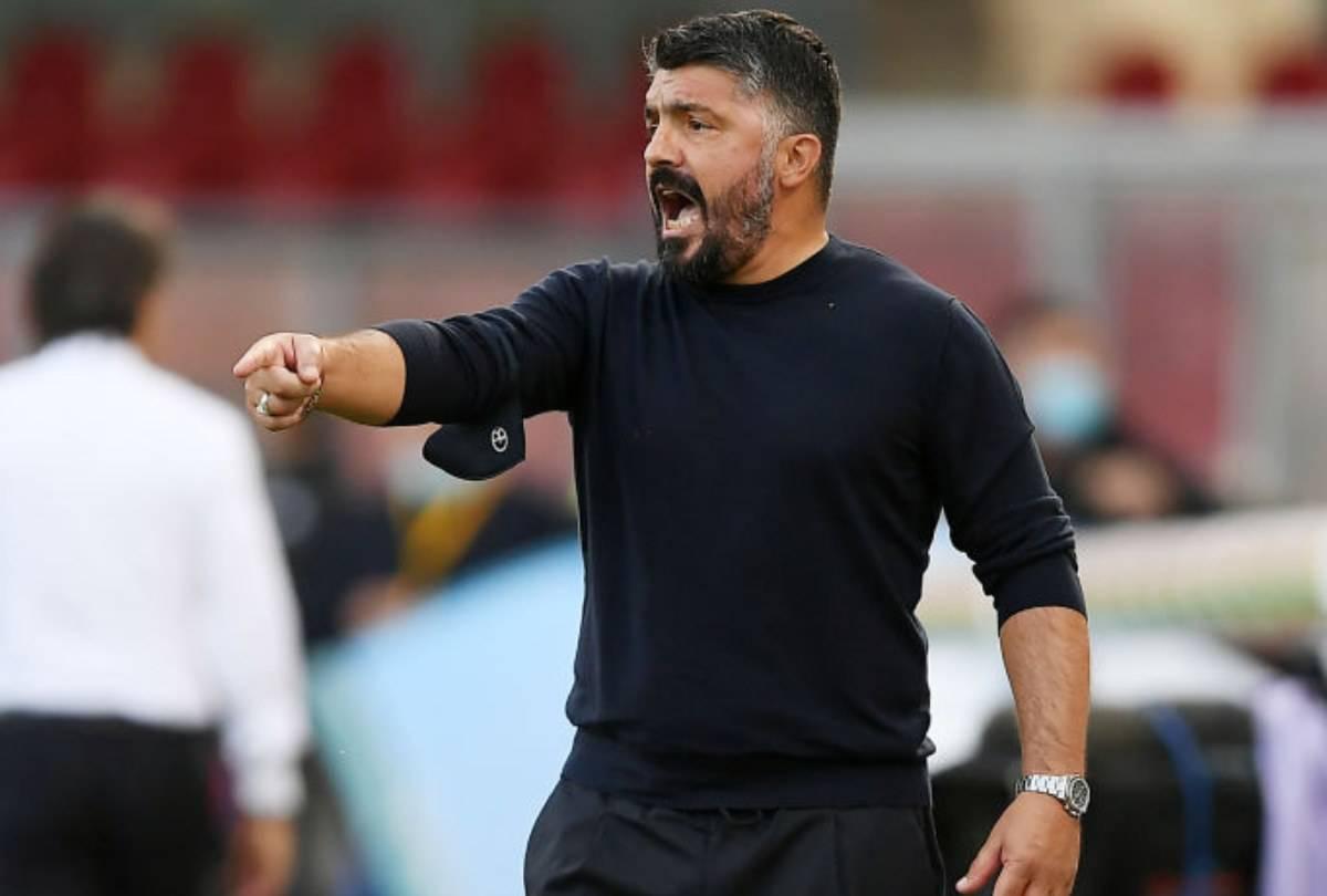 Gattuso Napoli Maradona