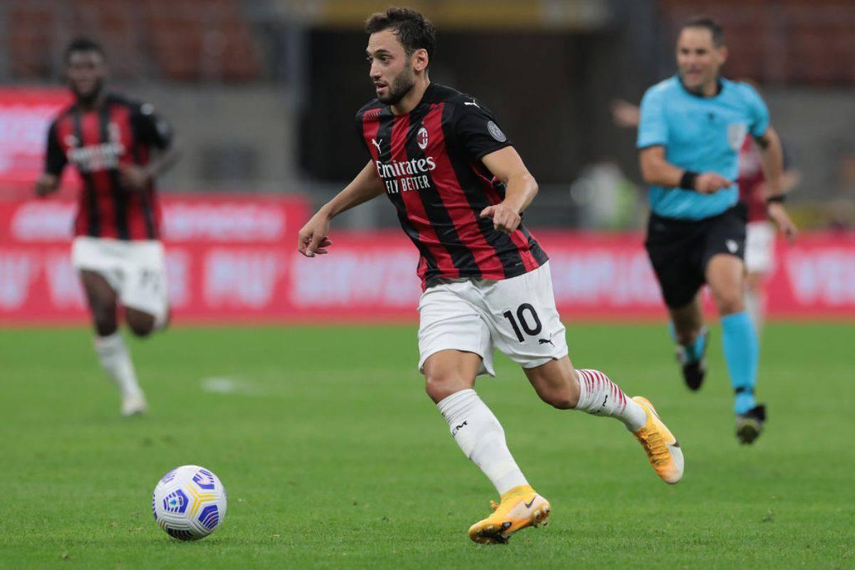Calhanoglu Milan Juventus