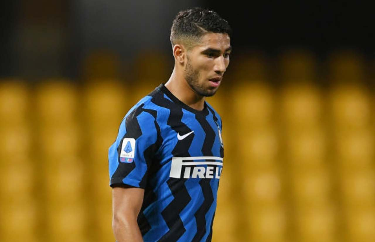 Inter, pronta causa all'UEFA per Hakimi (Getty Images)