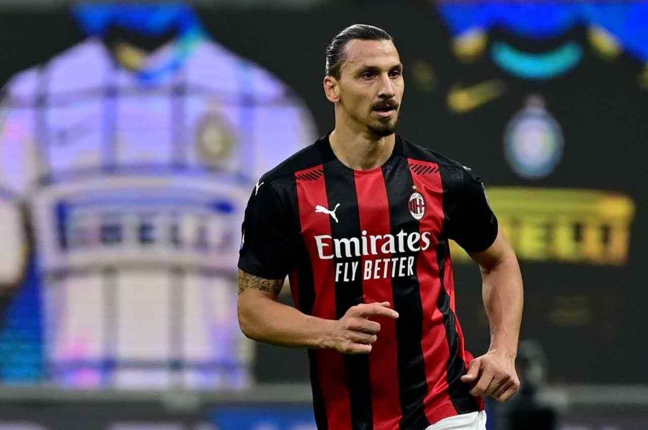 Ibrahimovic, tratta il rinnovo col Milan (Getty Images)
