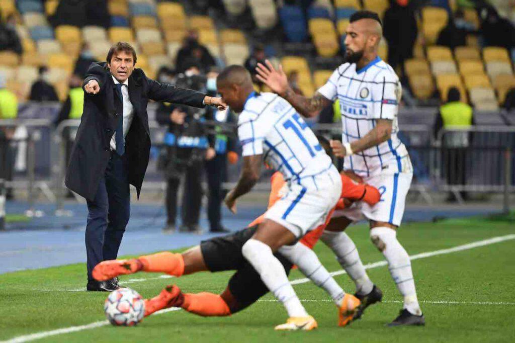 Inter, Conte pareggia contro lo Shakhtar Donetsk (Getty Images)