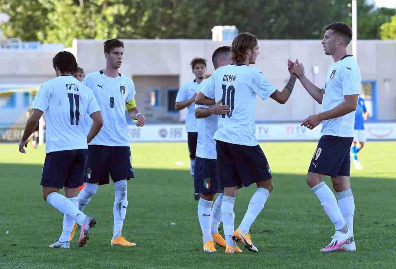 Italia Under 21 due positivi al Covid (Getty Images)