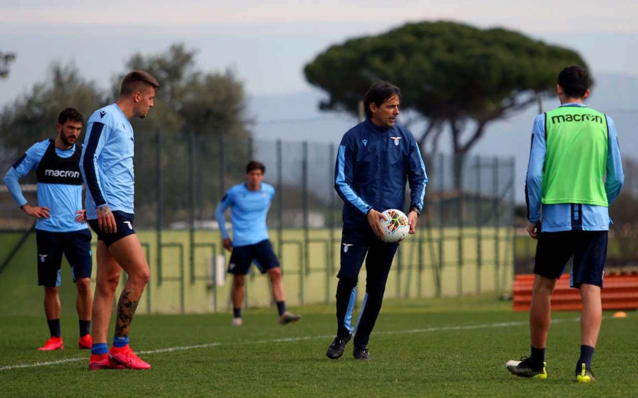 Lazio, positivi al Covid nel gruppo squadra: ignota l'identità dei ...