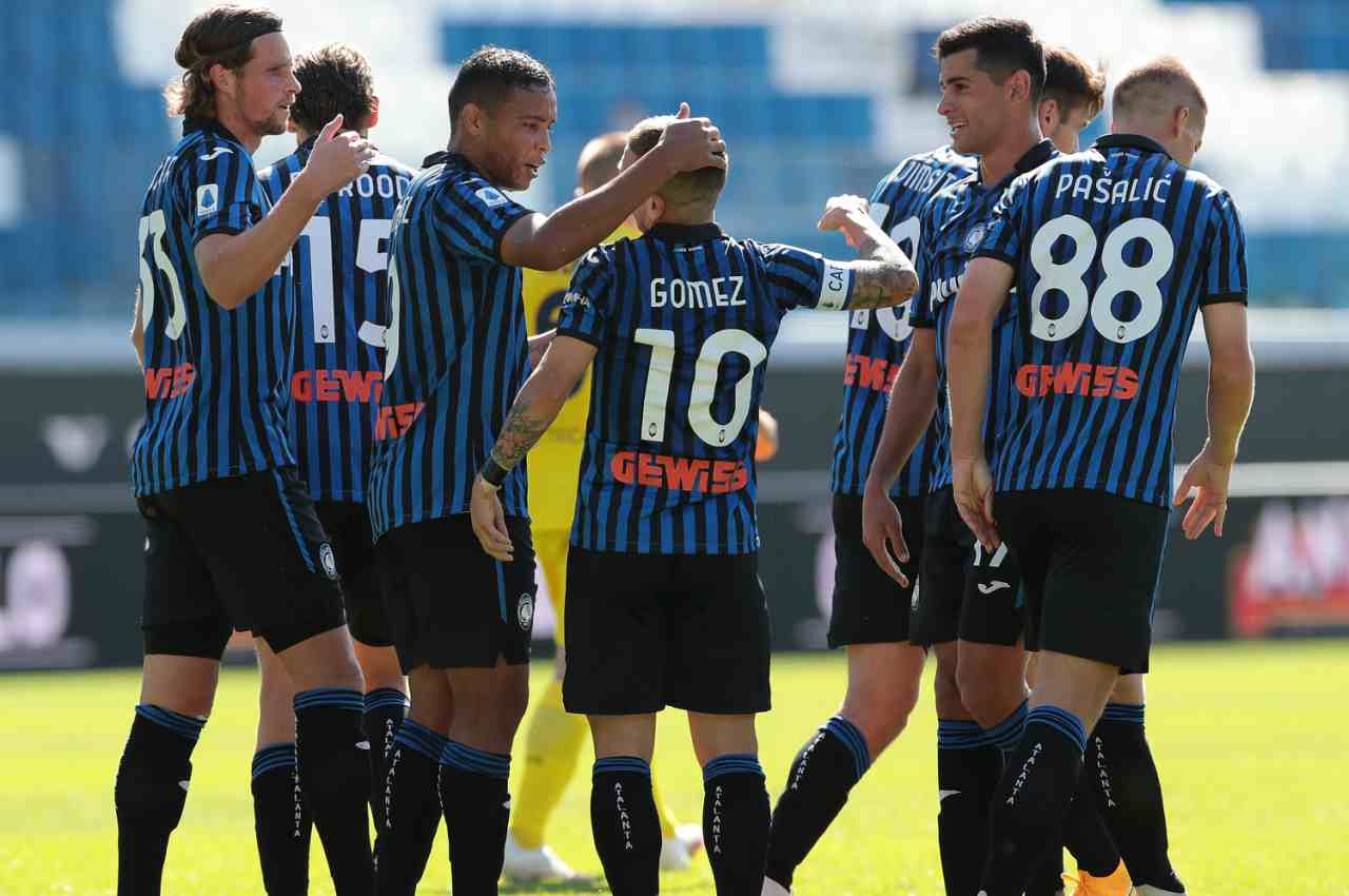 atalanta cagliari highlights gol