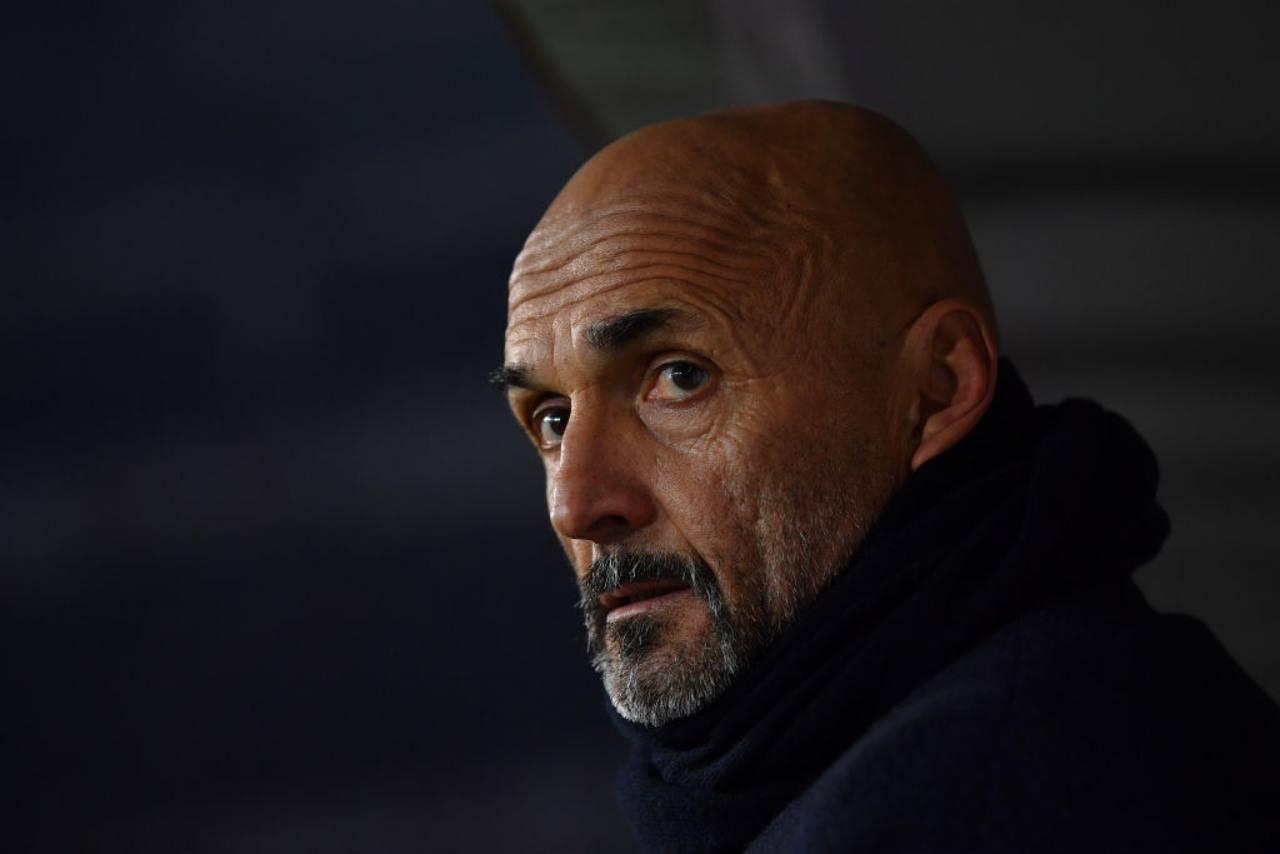 Luciano Spalletti attaccato dai tifosi della Roma (Getty Images)