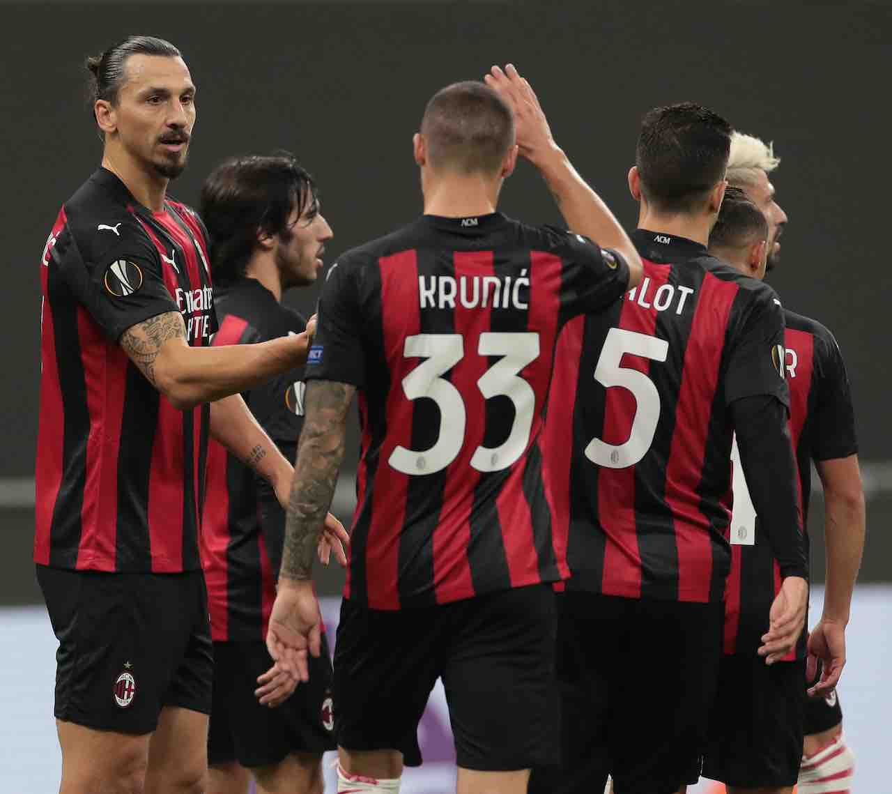 Milan, Pioli conquista vittoria e primato nel girone di Europa League (Getty Images)