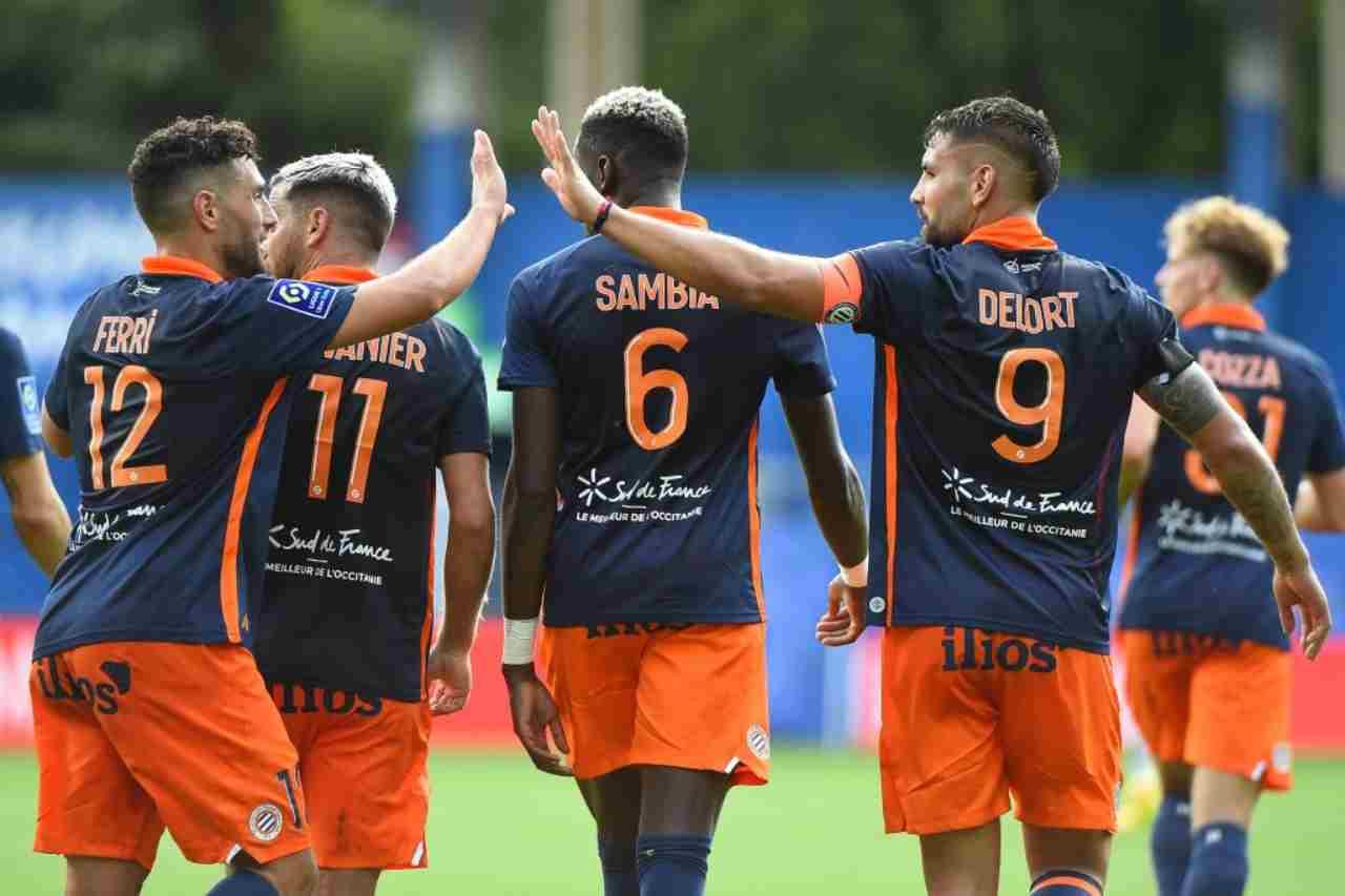 Lille Montpellier formazioni