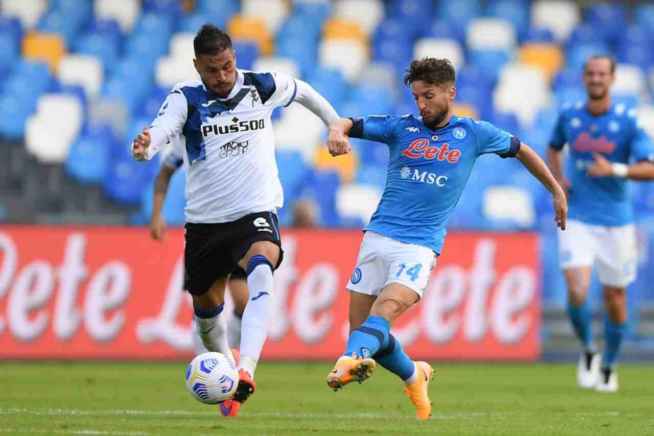 Napoli-Atalanta termina 4-1 (Getty Images)