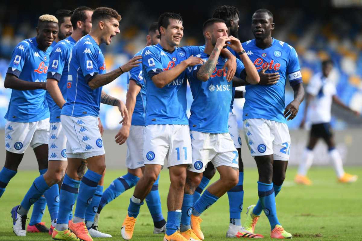 Napoli-Atalanta Highlights