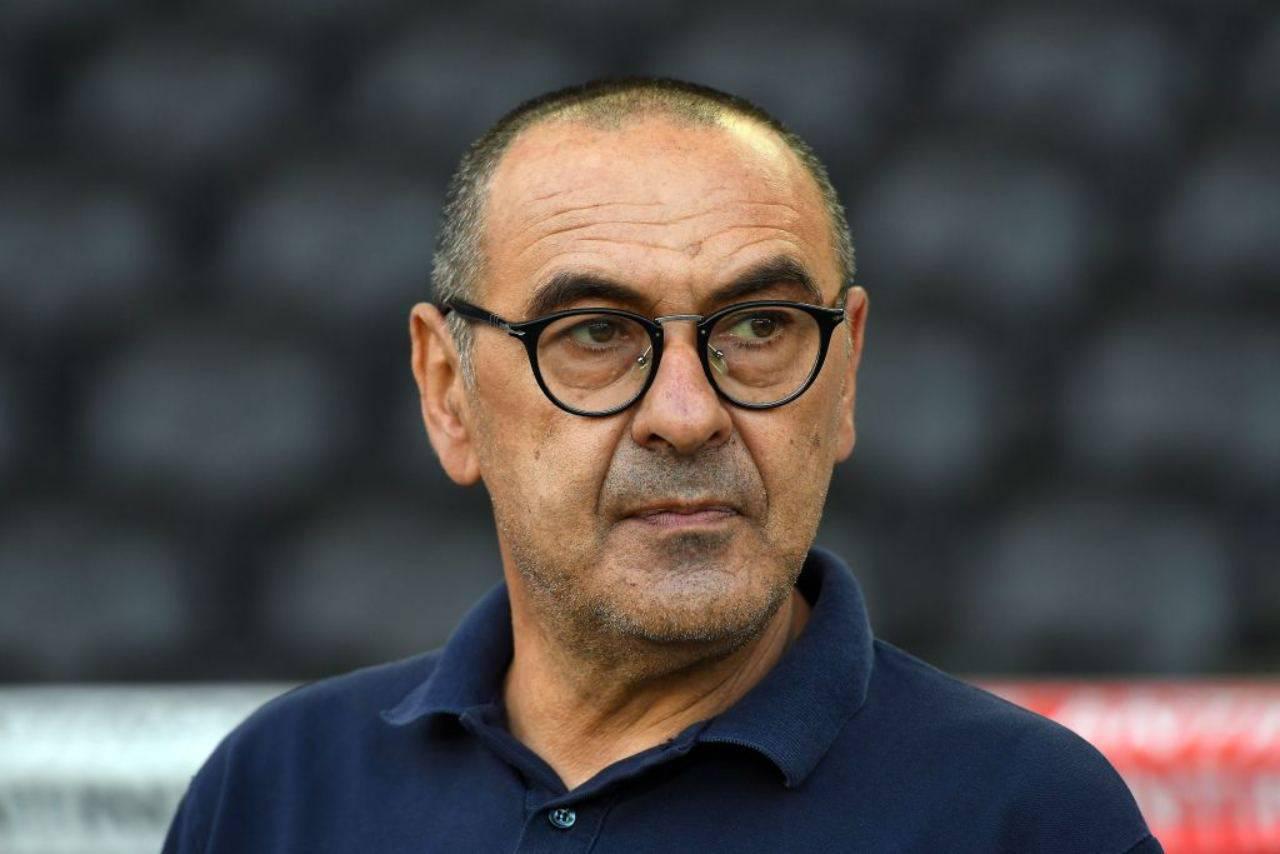 Maurizio Sarri, ad attenderlo ci sarebbe la Fiorentina (Getty Images)
