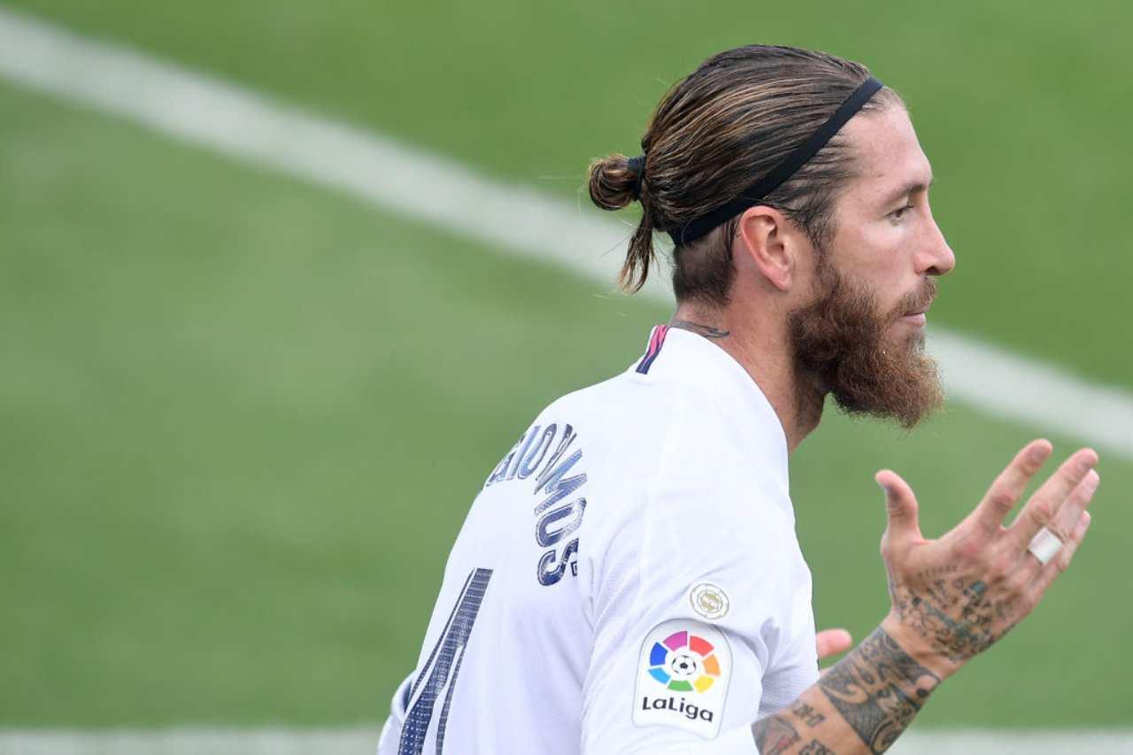 Sergio Ramos, ipotesi Juventus (Getty Images)