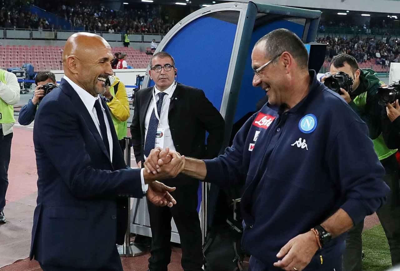 Luciano Spalletti e Maurizio Sarri (Getty Images)