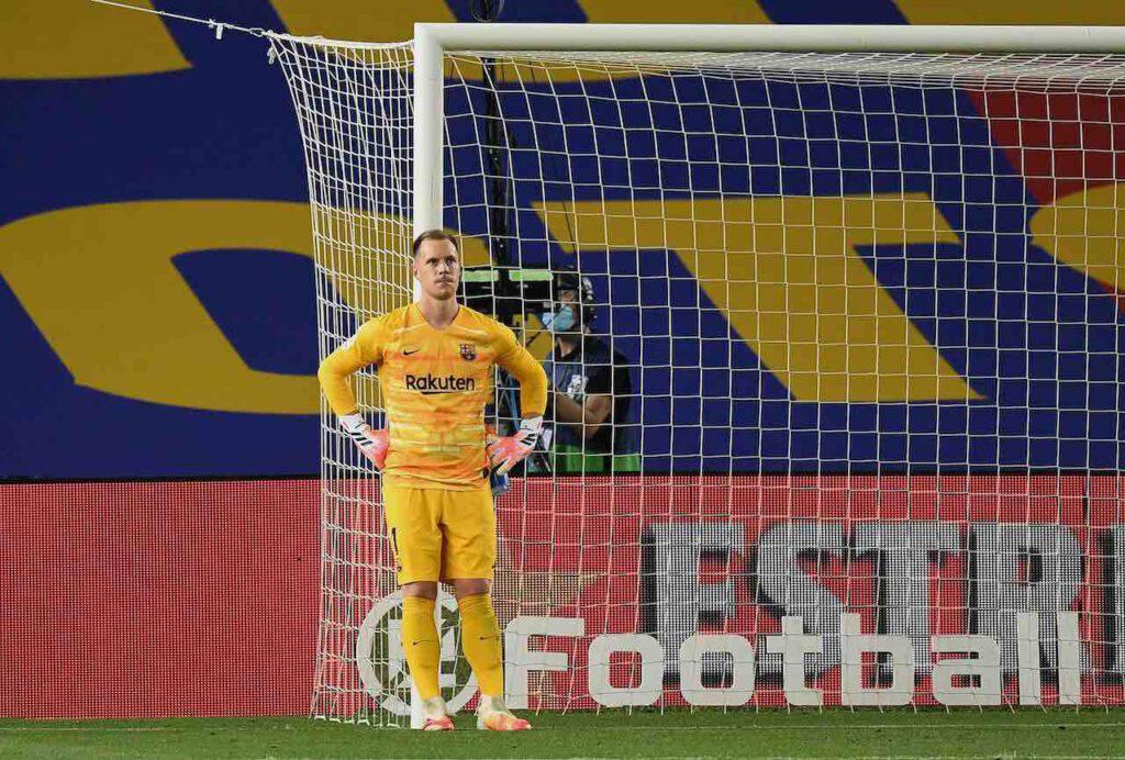 Ter Stegen per sostituire Handanovic, l'Inter ci pensa (Getty Images)