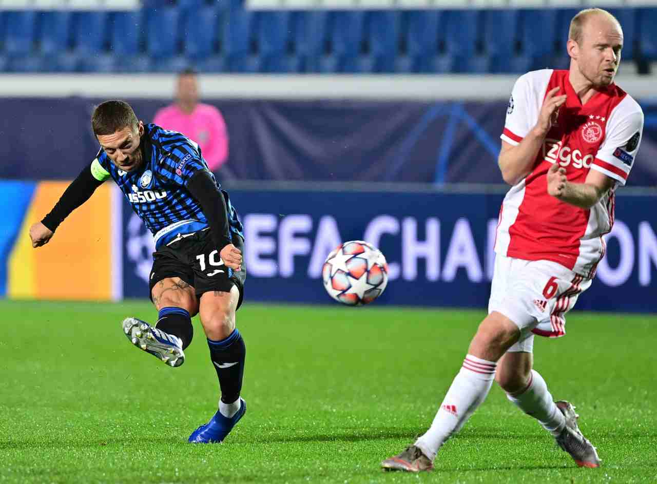 Champions League, i gol e la sintesi di Atalanta-Ajax