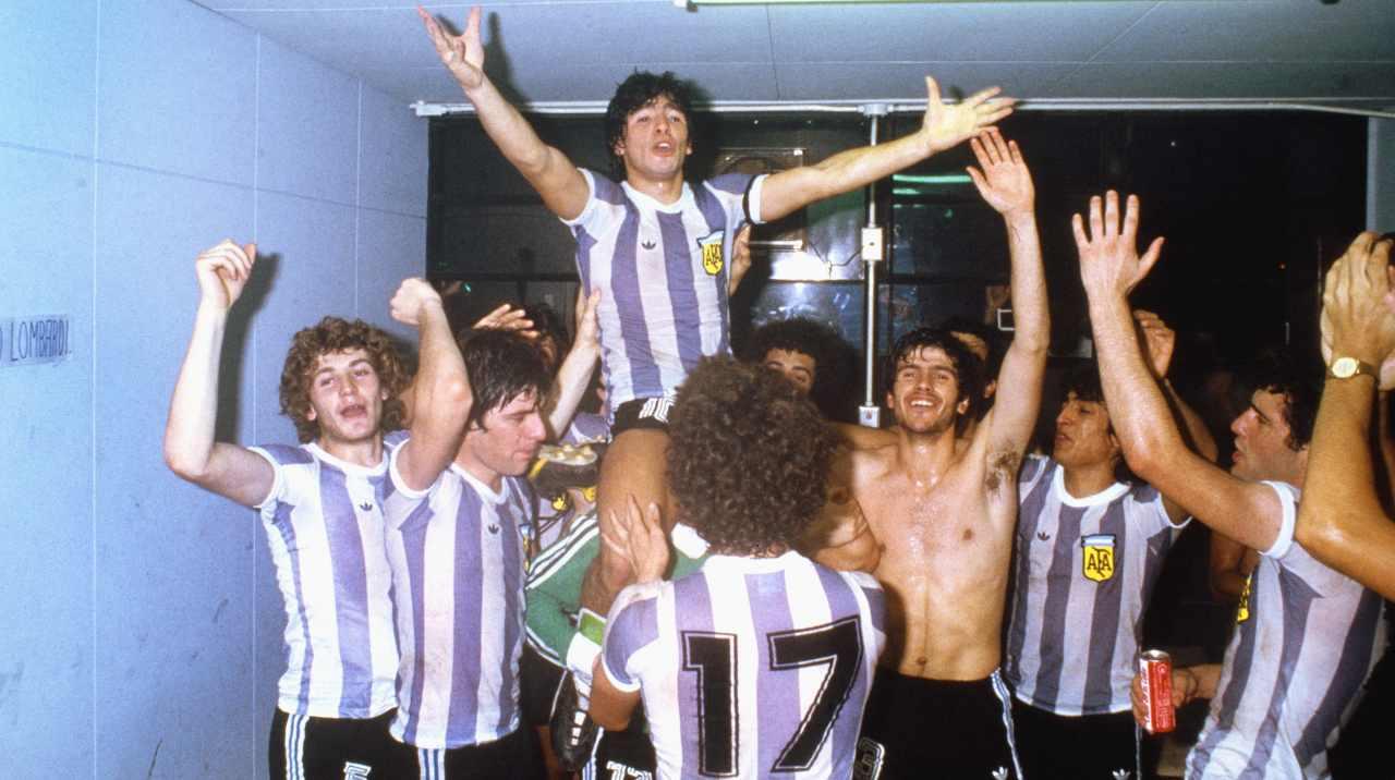 Maradona al Mondiale Under 20 1979
