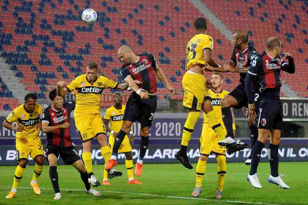 Parma, quattro positivi al Covid. Squadra in isolamento fiduciario