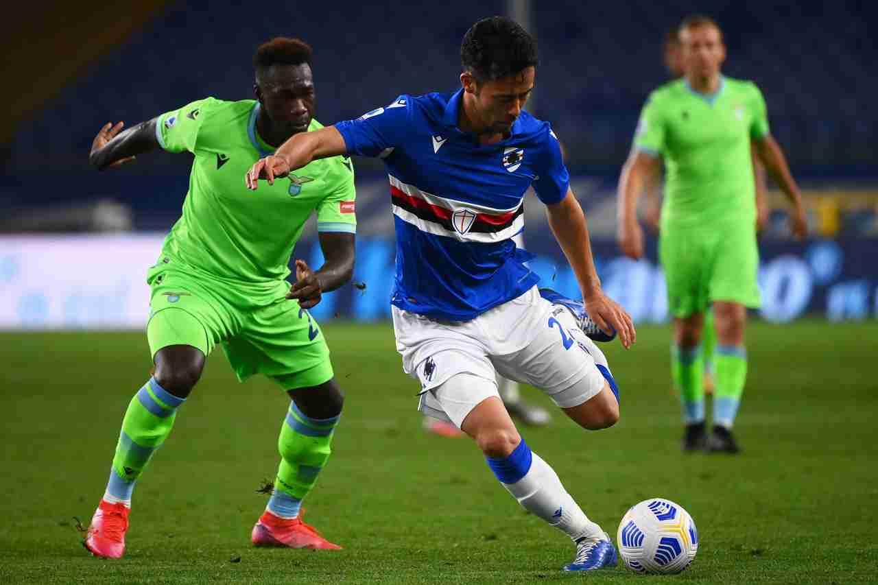 Serie A, Sampdoria-Lazio: la sintesi del match