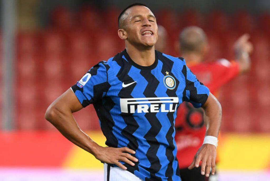 Inter Roma infortunio Sanchez (Getty Images)