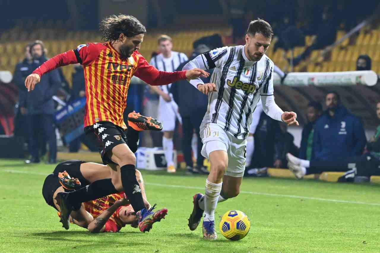 Juventus-Benevento precedenti