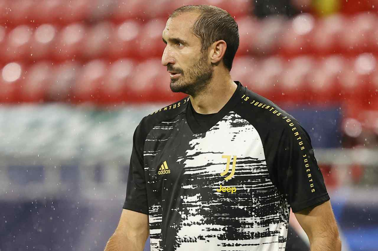 Chiellini Juventus Infortunio