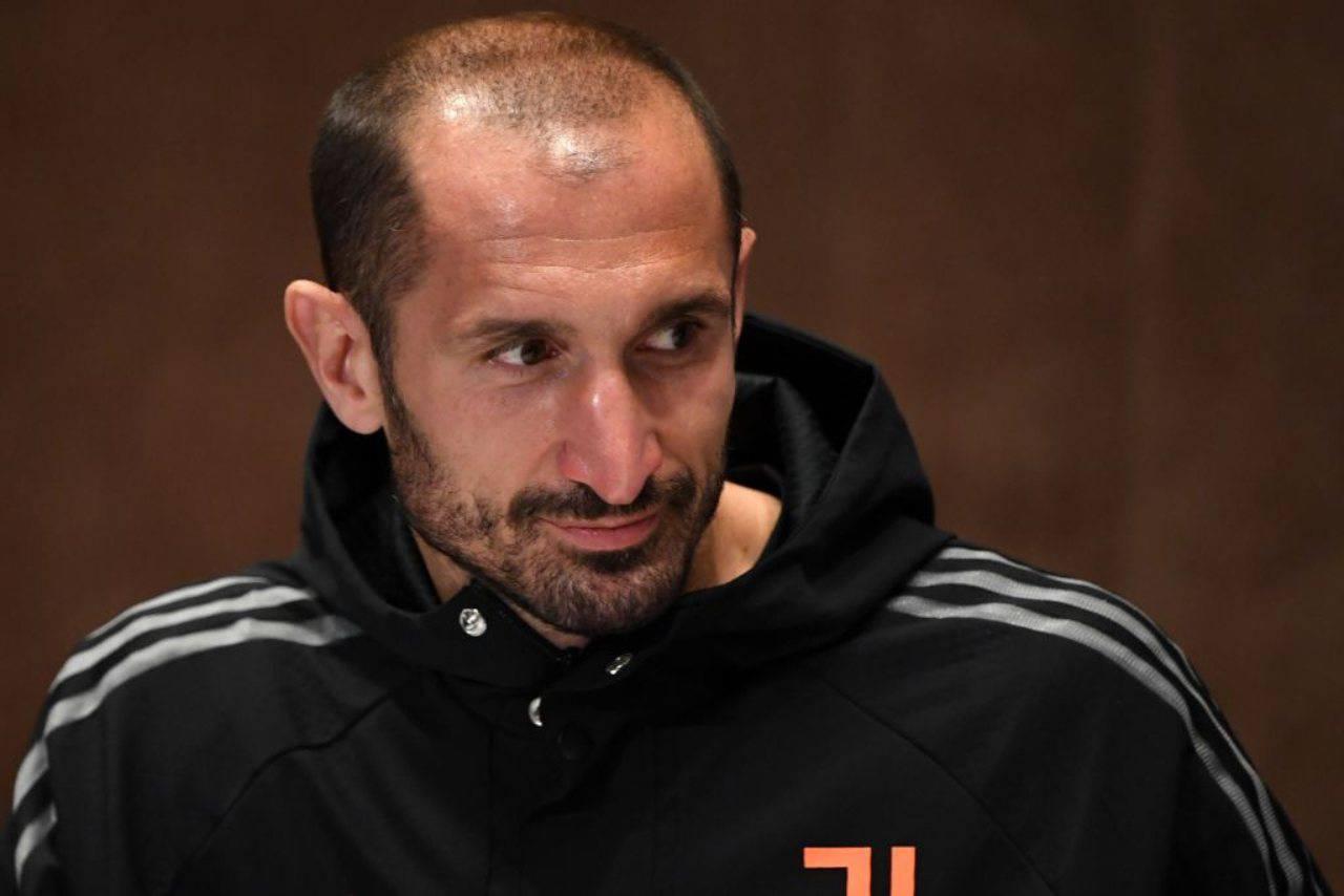 Juventus, infortunio Chiellini: i tempi di recupero del capitano bianconero