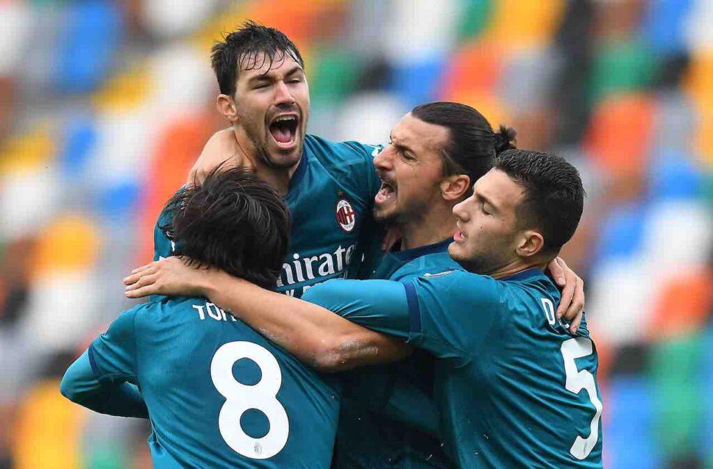 Ibrahimovic, regalo speciale ai compagni di squadra del Milan (Getty Images)