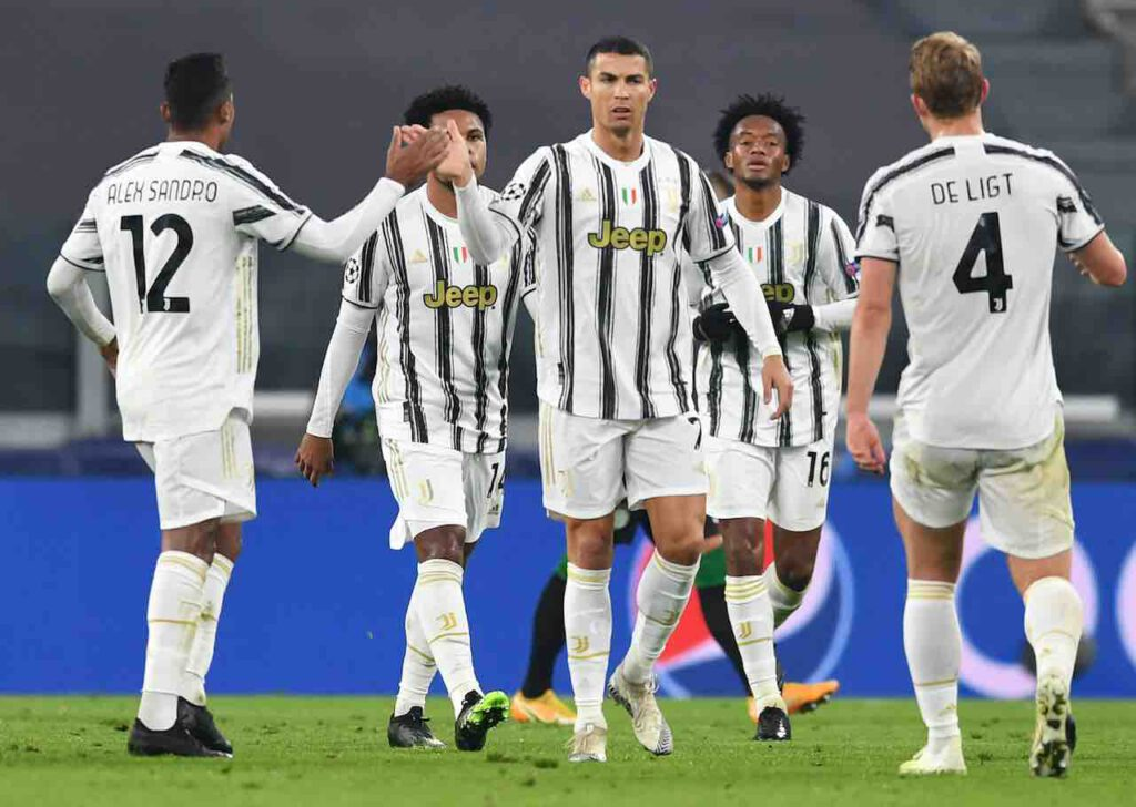 Juventus avanti in Champions League (Getty Images)
