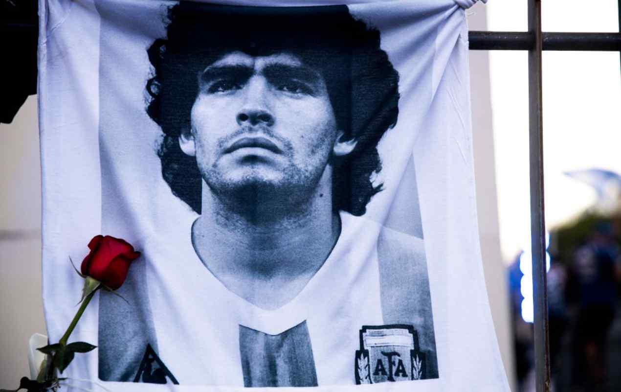 Maradona Ajax Riscaldamento