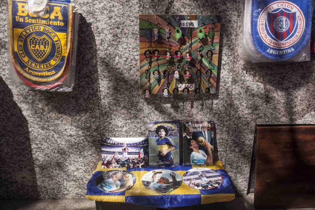 Maradona, la camera di un hotel indiano diventa museo (Getty Images)