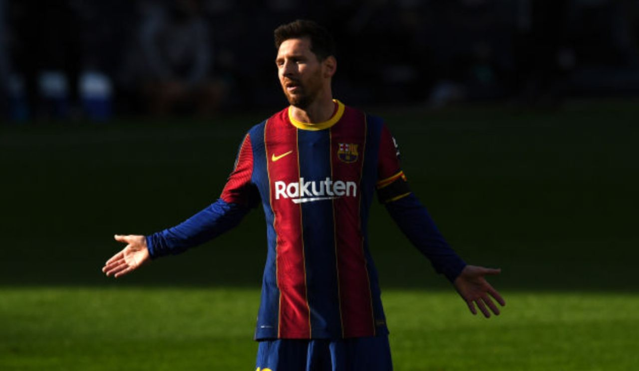 Messi, multa al Barça per il tributo a Maradona (Getty Images)