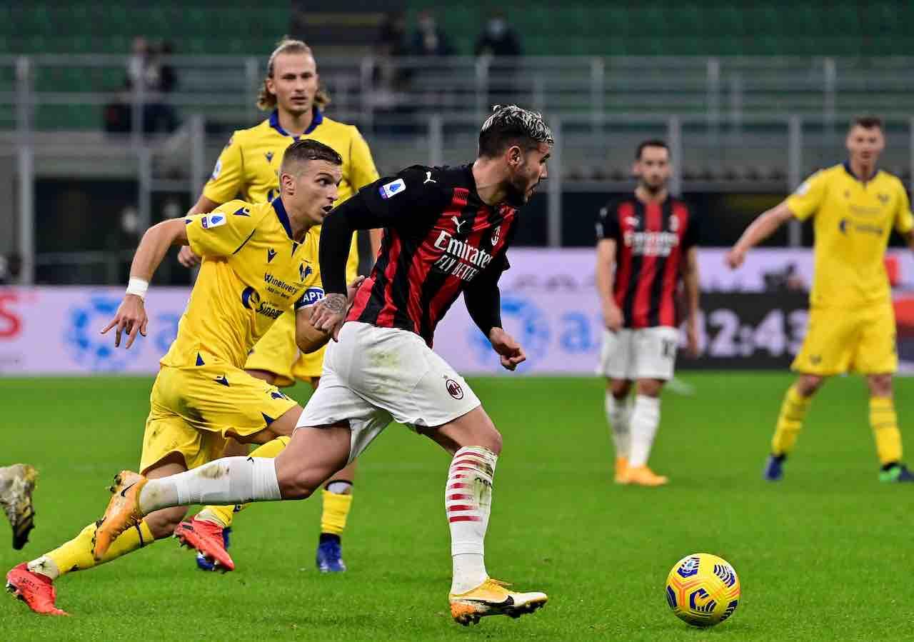 Verona-Milan precedenti
