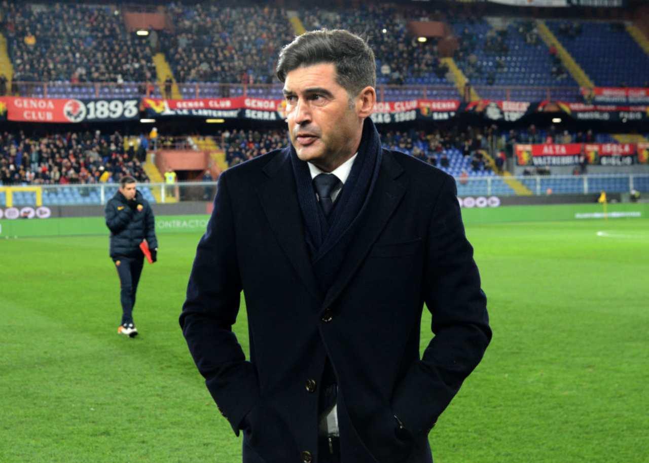 Fonseca dopo Roma-Fiorentina: