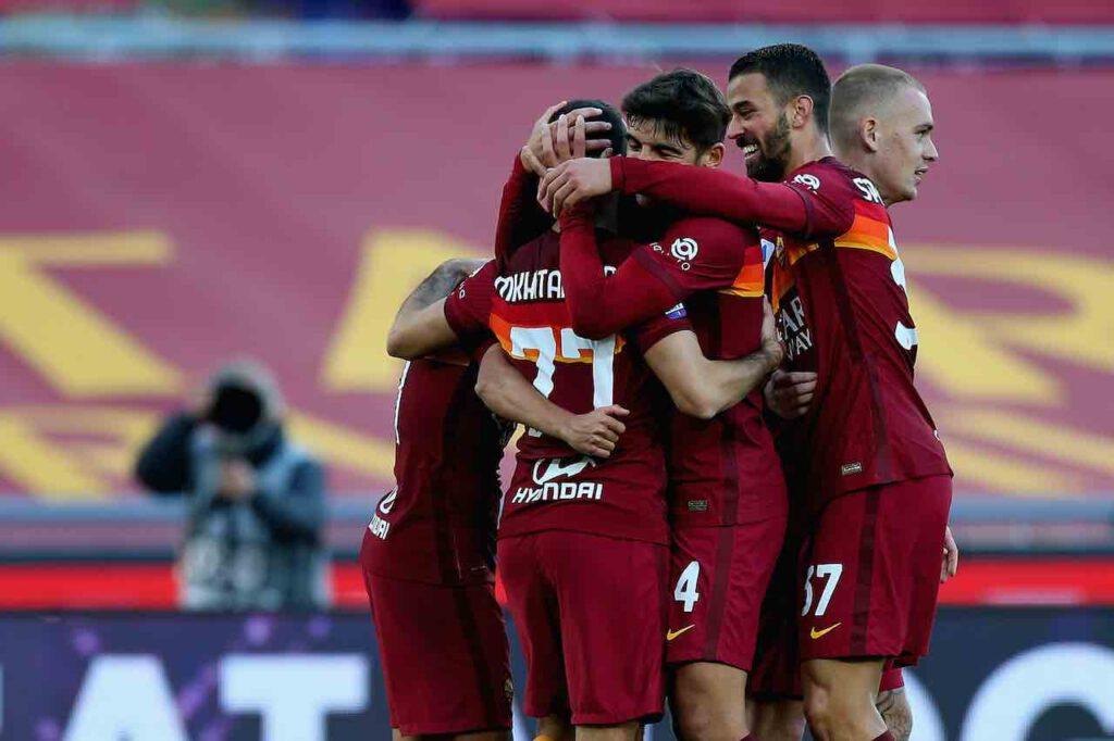 Roma-Parma, Mancini e Ibanez acciaccati (Getty Images)