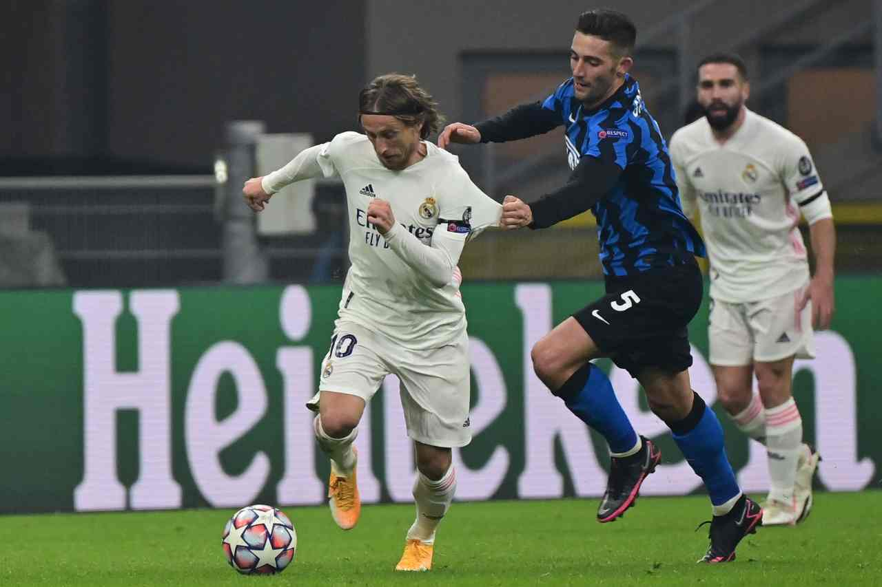 Champions League, la sintesi di Inter-Real Madrid