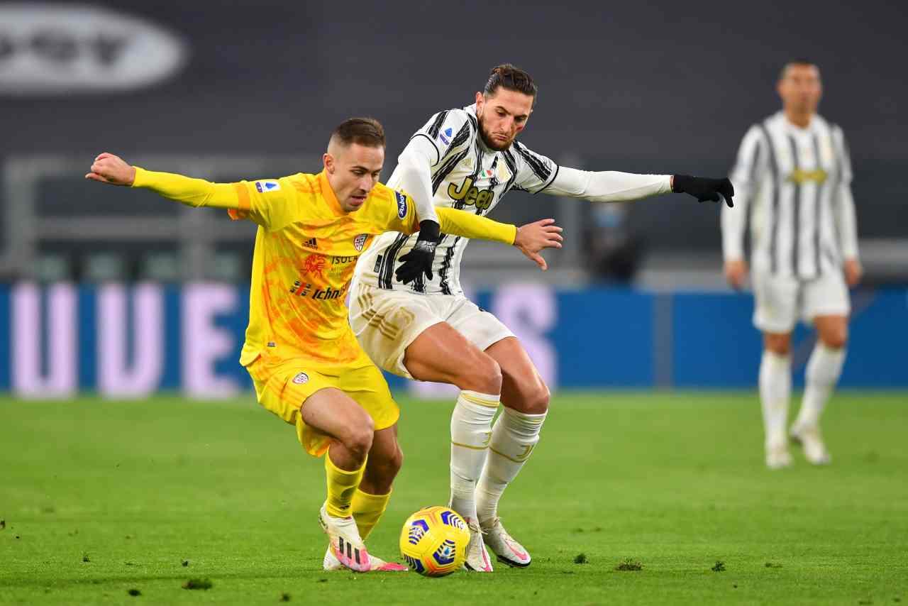 Serie A, Juventus-Cagliari: la sintesi della partita