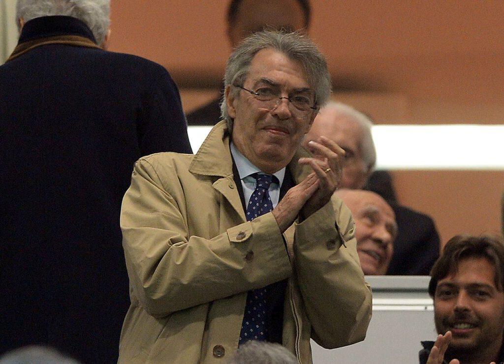 Massimo Moratti soddisfatto per lo Scudetto (Getty Images)
