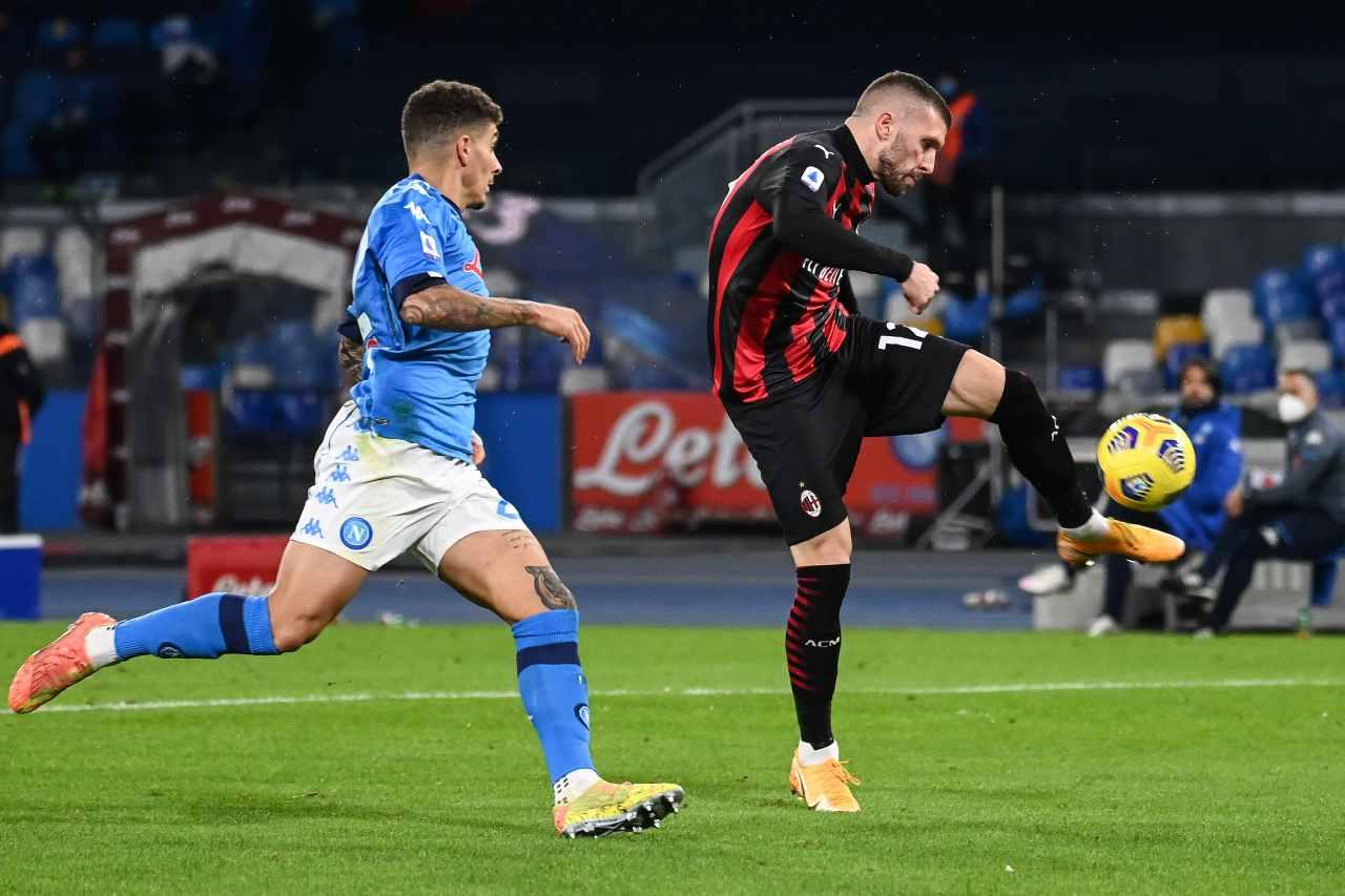 Milan-Napoli precedenti