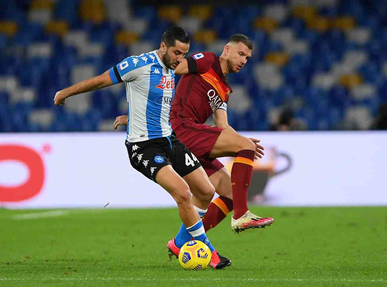 Serie A, la sintesi di Napoli-Roma