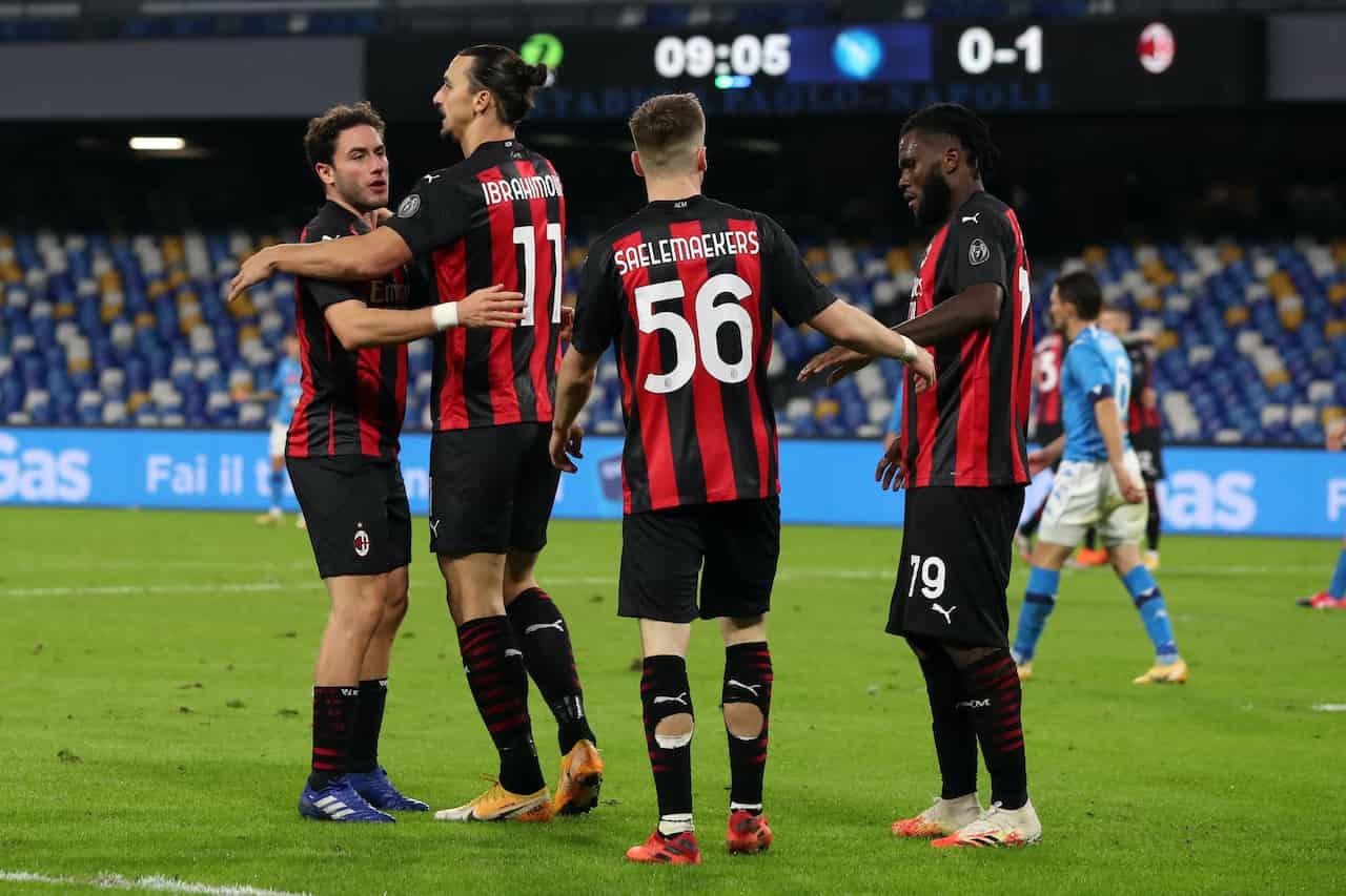 Milan, 20 rigori da inizio della scorsa stagione: in Europa secondo solo alla Lazio