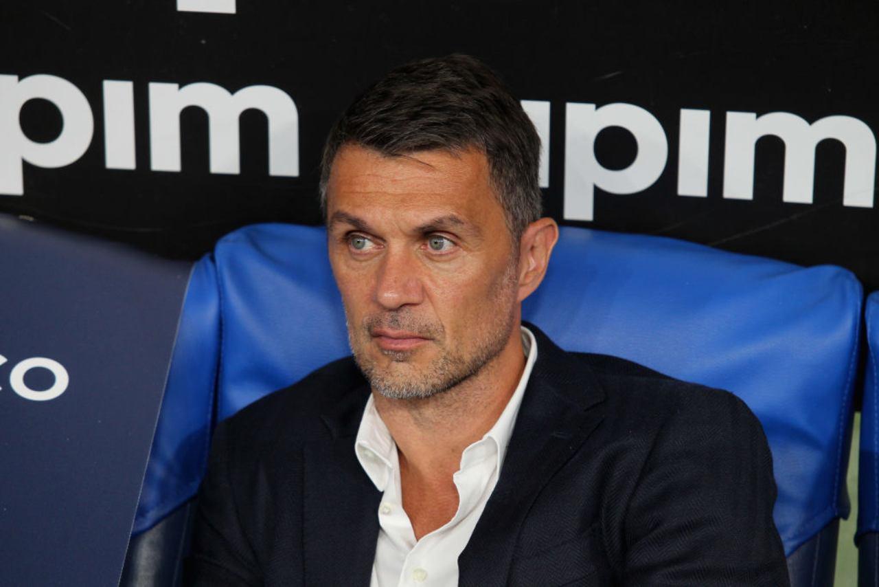 Milan, Maldini nel pre-partita di Cagliari (Getty Images)
