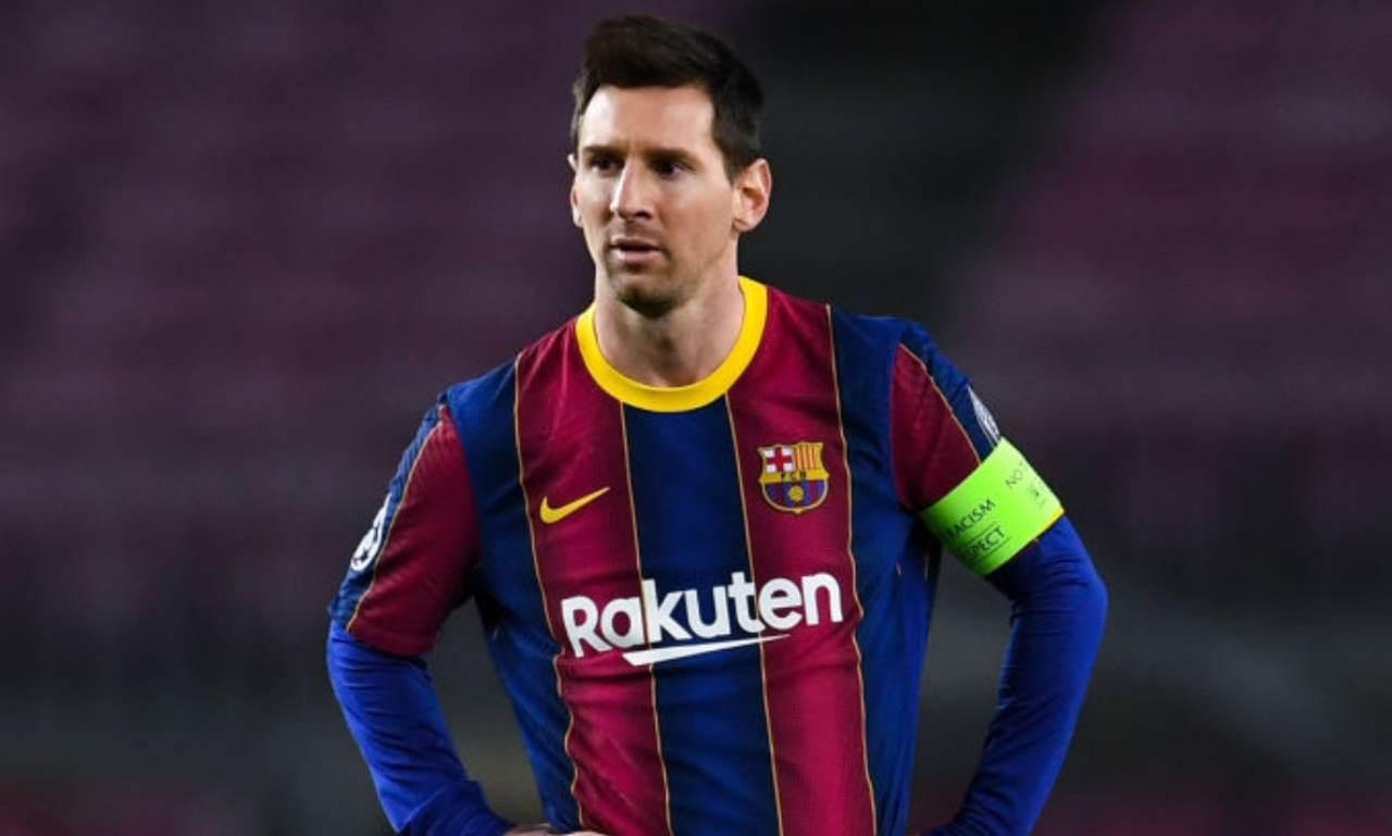 Messi PSG Barcellona